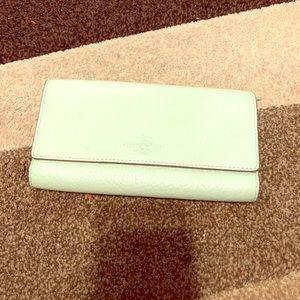 Wallet mint green